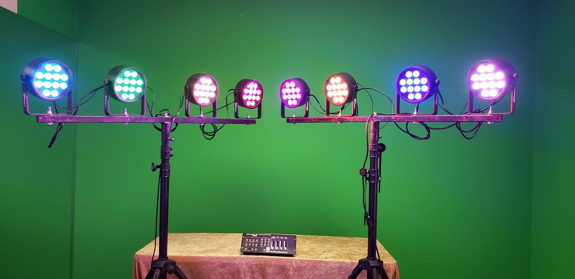 lighting equipment party lighting rentals los angeles stage uplight. Black Bedroom Furniture Sets. Home Design Ideas